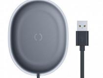 Incarcator Priza Telefon Wireless Qi 15w si Cablu Date USB