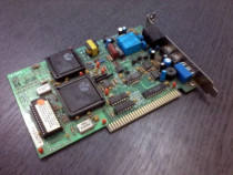 Modem (dial-up) pe slot ISA 16 biti, de colectie