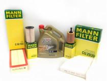 Set Filtre Mann + Ulei Castrol Edge Turbo Diesel Titanium