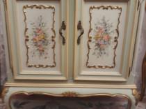 Comoda Vintage Antic, Baroc Venetian Ludovic Rococo,pictata