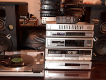 Linie Pioneer amplificator CD radio boxe dublu caset