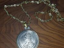 Pandantiv lant lantisor medalion maria theresia