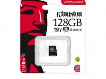 Card microSD Kingston, 128 GB, clasa 10