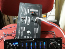 Statie amplificator modul mixer 2x200w