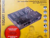 Euroscart Switcher Spliter 4 Scart 6 RCA
