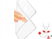 Husa protectie silicon LG G5, carcasa transparenta spate tel