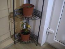 Coltar din metal-Se poate folosi pentru ghivece cu flori