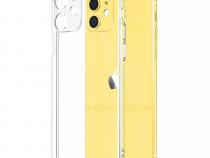 Iphone 11 / PRO /MAX Husa Slim Silicon Clar Protectie Camera