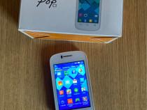 Alcatel OneTouch Pop. Culoare Alb. Android. Liber de rețea.