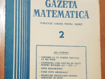 Gazeta matematica - Nr. 2 din 1981
