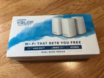 Sistem wireless Linksys Velop Intelligent Mesh, 3packAC3900