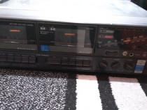 Combina muzicala vintage radio, dublu cass, pick-up