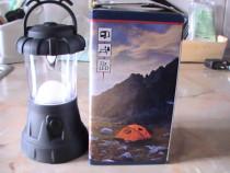 Lampa cu leduri camping