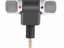 Microfon Stereo Mini pt Telefon,tabletaetc,Portabil90°Mobil,