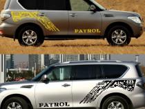 Set 2 stikere usi laterale Nissan Patrol Y60, Y61, Y62