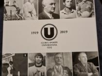 Carte aniversara 100 ani U Cluj.