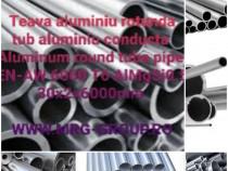 Teava aluminiu rotunda 30x2mm conducta tub Alama Cupru Inox
