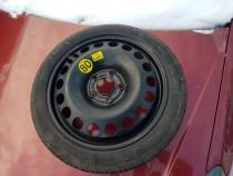 Roata rezerva ingusta rulou portbagaj Opel Astra h caravan