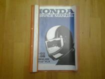 Honda Shadow VT-600C 1988-1996 carte tehnica