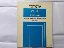 Manual reparatii pentru motoare Toyota (2L, 3L) - supliment