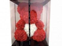 Ursulet Cadou din trandafiri spuma