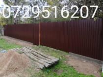 Executam Gard de împrejmuiri terenuri case
