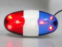 Sonerie Politie pentru bicicleta , sirena cu lumini si sunet