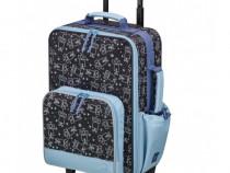 Geanta Oe Mercedes-Benz Negru / Albastru B66955202