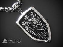 Colier Pandantiv Arhanghelul, Sfântul Mihail INOX cod PND282