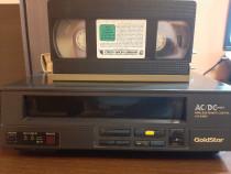 Video GoldStar VCP-4300P + 2 casete originale pt colectionar