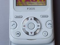 Sony Ericsson F305 WHITE- 2008 - liber