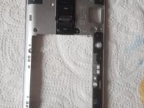 Rama mijloc LG G2 Mini LTE D620 negru nou si original