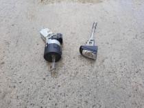 Contact cu cheie si butuc usa Citroen C5, 2011