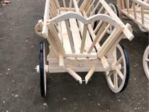 Caruta din lemn lungime 2 metri