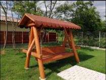 Balansoar rustic / leagan lemn