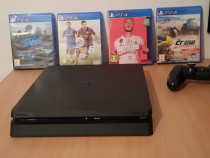 Sony PS 4 slim 1 TB + 4 jocuri