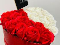 Aranjamente florale trandafiri din sapun iasi