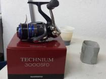 Mulineta pescuit spinning Shimano Technium 3000SFD