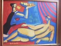 Tablou scoala maghiara nud