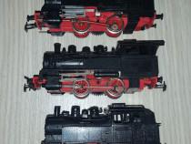 3 trei locomotive ho 16.5 mm defecte