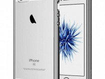 Husa telefon Bumper Silicon Apple iPhone 5c clear grey ultra