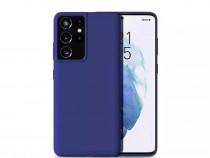 Husa Silicon Carbon Neagra - Samsung S21 S21 Plus S21 Ultra