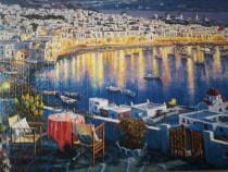 """Tablou puzzle """"Vacanta în Grecia"""""""