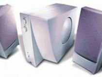 JAZZ J-7904 Carrera amplif. 2.1 +boxe 700W PMPO +casti bonus