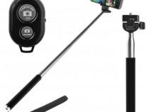 Selfie stick telefon Z07-1 cu Telecomanda Bluetooth C230