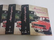 Bibliorafturi Colecție Masini de Legenda + reviste
