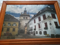 Tablou puzzle Cetatea Sighișoara