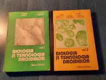 Biologia si tehnologia drojdiilor volumele 1 si 3 I. Anghel
