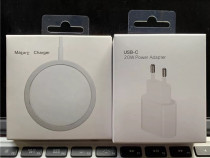 Iphone - Incarcator Fast Charger 20W + Cablu Magsafe 15W