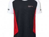 Tricou Oe Porsche Motorsport Collection Negru / Alb / Rosu M